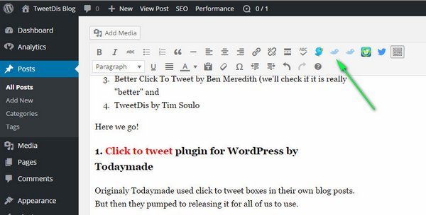 Click to Tweet Plugins 1
